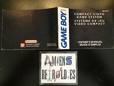 Notice/Mode d'emploi/Manuel Console Nintendo GB Gameboy DMG-GB-FAH-2
