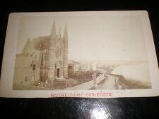 Cdv old photograph Notre Dame Des Flots by Letellier le Havre france c1870s