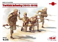 ICM Models 1/35 WWI Turkish Infantry 1915-1918 (4) ICM35700