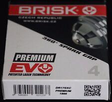 4X DR17SXC Brisk Spark Plug Fiat Panda Doblo Punto Van Siena Stilo Ford Maverick
