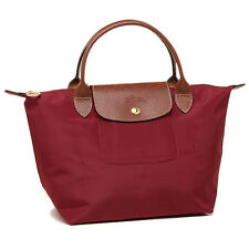 Longchamp Le Pliage Red Nylon Foldable Shoulder Tote Bag LC LON089/1621-C87