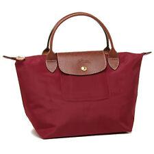 Longchamp Le Pliage Red Nylon Foldable Shoulder Tote Bag LC LON089/1621-C87