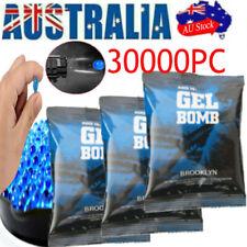 AU 30000 PCS 7-8MM Gel Balls Hardened Ammo Water Bullets for Gel Blaster Toy Gun