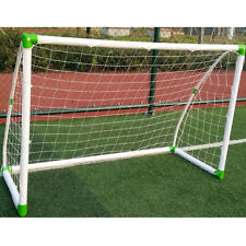 Outdoor Football Exercise Soccer Goal 6' x 4' Football W/ Net Straps, Anchor Set