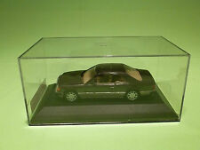 MINICHAMPS  1:43 MERCEDES BENZ 280CE  1988  -  COUPE -  IN NEAR MINT CONDITION