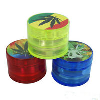 2Inch Leaf Herbal Herb Tobacco Grinder Smoke Spice Crusher Hand Muller