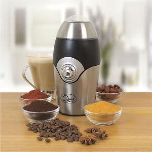Electric Spice Coffee Nut Seed Herb Grinder Crusher Mill Blender Steel Blades
