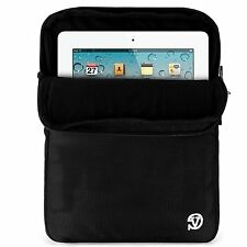 "Black 10.1"" Tablet Shoulder Bag Messenger Carring Case For Apple iPad Pro 9.7"""