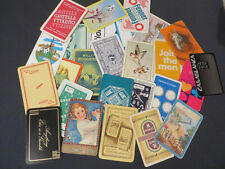 LOT OF 26 X VINTAGE SINGLE SWAP PLAYING CARDS (ALL ACE OF SPADES)