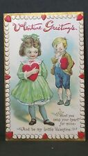 Vintage Valentine Post Card Won'T You Swap Your Heart For Mine Series 232F
