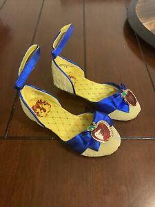 Disney Store Exclusive Princess Snow White Costume Shoes Sz 9/10