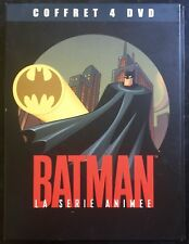 COFFRET 4 DVD BATMAN LA SÉRIE ANIMÉE