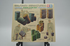 Tamiya MILITARY MINIATURES JERRY CANS SET 1/35 Scale Model Kit NEW SEALED