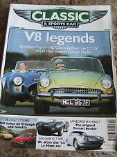 CLASSIC & SPORTS CAR MAGAZINE FEB 2001 V8 LEGENDS SUNBEAM TIGER AC COBRA MUSTANG