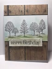Handmade Greeting Card Stampin Up Happy Birthday Card