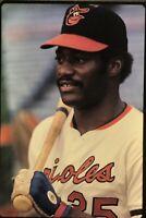Don Baylor Baltimore Orioles 35mm Baseball Slide Original Vtg 1970's A8