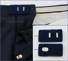 Blue Hook & Bar Waist Extender Closure Pants Shorts Trouser Line Widen Expander