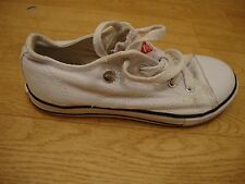boys white canvas shoes size 12 from LEE COOPER