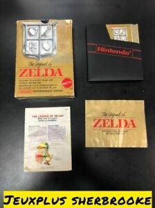 The Legend of Zelda LoZ (Nintendo Entertainment System NES 1987) COMPLETE IN BOX