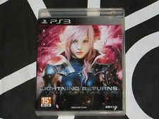 PS3 Import Lightning Returns Final Fantasy XIII Japanese voice Chinese Subtitle
