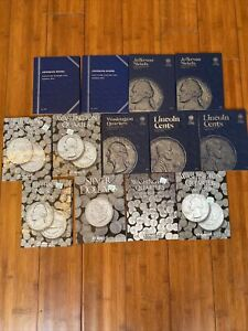 US Coin Collection 13 Harris & Whitman Folder Lot