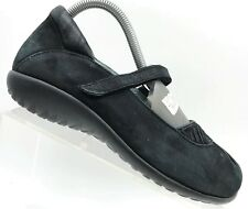 Naot Black Leather Mary Janes Casual Comfort Shoes Women's 39 / 8