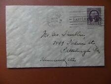Housse de Pittsburgh USA 1932 26th octobre adressée Pittsburgh PA utilisé.