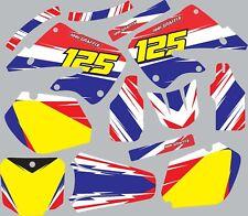 Graphic Kit for 1998-1999 Honda CR125 CR 125 shrouds fender plastic decals