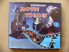 The World of Movie Themes - 2 CD colonna sonora 1996 il padrino E.T. Goldfinger Rocky
