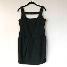 "New With Tags Stretsis Designer Wool Blend ""Little Black Dress"""