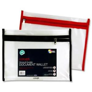 A4 Durable Document Wallet. Pack of 12.