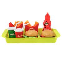 Set of 8pcs Pretend Play Toy Simulation Fast Food Drinks Set Boys & Girls