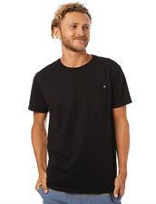 Billabong Mens Surf T-shirt Tee Size XL Black Crew Neck Tailored Fit