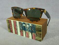 °Vintage sunglasses Ray-Ban B&L USA Wayfarer Deluxe L1214 G-15 1980's