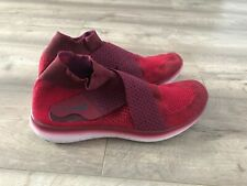 NIKE-Motion-Flyknit- Dark Red  Man Uk9/eur44 Sample Trainers