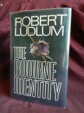 The Bourne Identity by Robert Ludlum 1st Edition, 1st Print, Hardcover, 1980