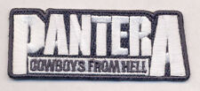 Pantera - Cowboys From Hell Logo Patch  New
