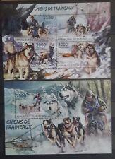 Briefmarken Hunde Burundi Bl.+KB.,postfrisch