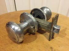 Vintage Aluminum Interior Door Knob Set