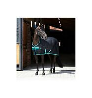 Stalldecke AMIGO STABLE SHEET Horseware black/teal/dark cherry