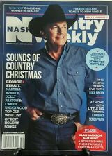 Nash Country Weekly Dec 28 2015 George Strait Sounds Christmas FREE SHIPPING sb