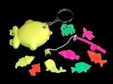 """VERY RARE Mini Fishing Game Fish 3"""" Keychain Key Chain Ring"""