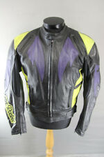 JOE ROCKET LEATHER BIKER JACKET WITH REMOVABLE PROTECTORS & THERMAL LINING 40 IN