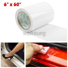 "6"" x 60"" Clear Car Door Sill Edge Paint Protection Vinyl Film Sheet Anti-Scratch"