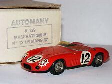 Automany John Cope Pro-Built Resin Maserati 300S 1957 Le Mans #12 1/43