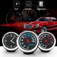 Luminous Round Shape Car Automobile Digital Clock Watch Beautiful Car Ornament A