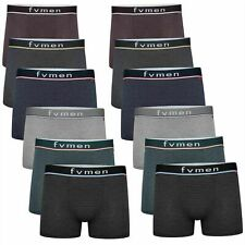 6 12 Pack Mens Branded Boxers Underwear Shorts Pants Sports Briefs S M L XL