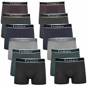 6 12 Pack Mens Branded Boxers Underwear Shorts Pants Sports Briefs S M L XL