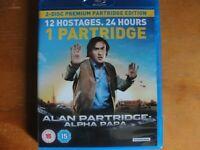 Alan Partridge: Alpha Papa Blu-ray  The Cheap Fast Free Post NO DVD JUST BLURAY