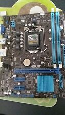 Asus p8h61-m le/csm,LGA 1155 Socket H2 Intel Motherboard  I3 I5 I7Asus Bios